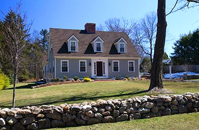 A SpaceCraft-designed home in Andover, MA was recently awarded an Historic Preservation Award